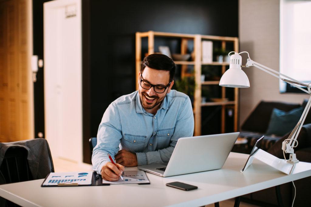 Home-Office – der effiziente Arbeitsplatz