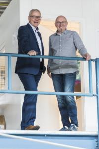 Michael Mühlmeier (Volskbank) und Dirk Obenhaus