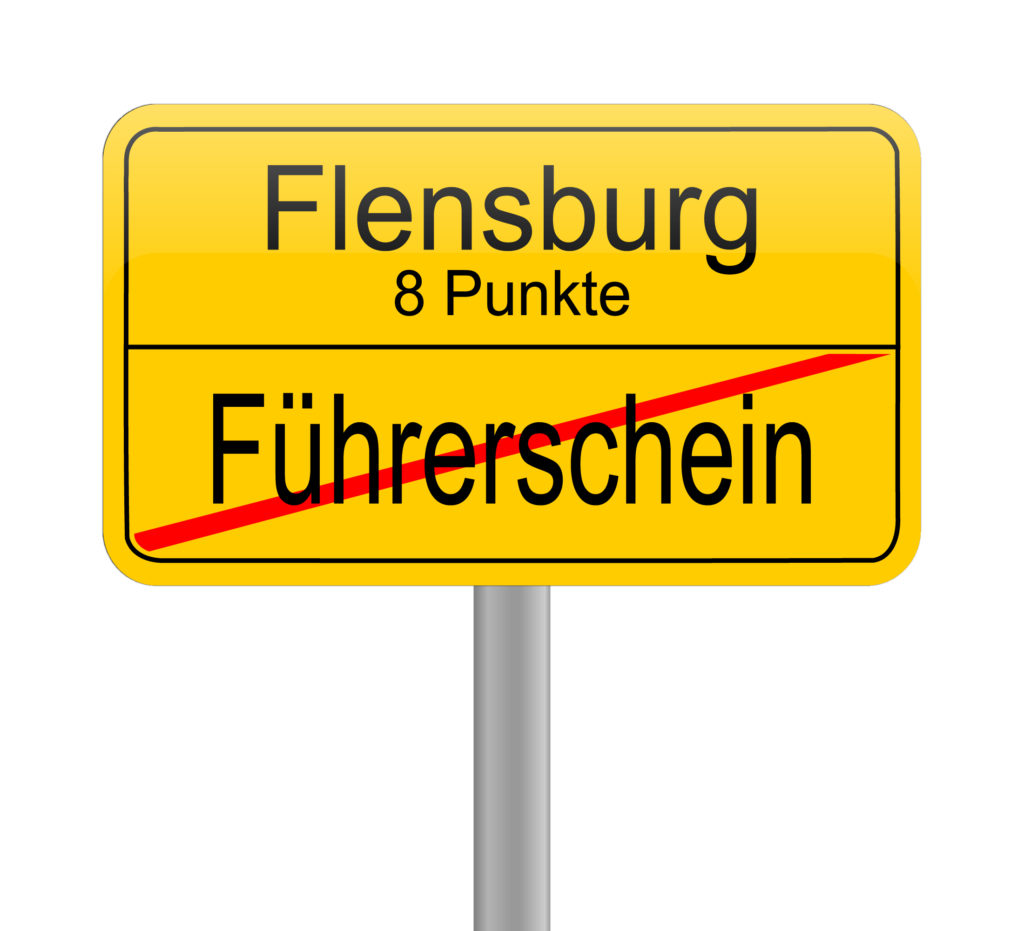 Bei sieben Punkten in Flensburg wird es eng