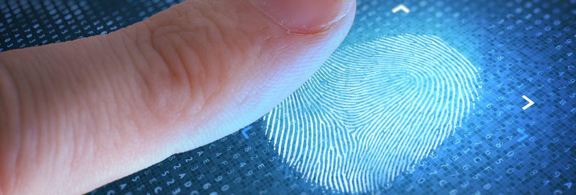 Personalausweis Fingerabdruck