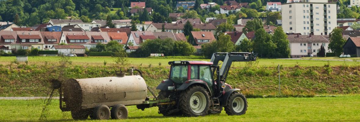 Landwirtschaft Ärger
