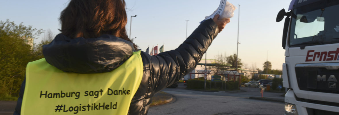 Hamburg sagt Danke für LKW